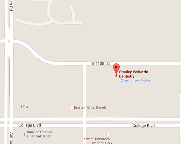 Stanley Pediatric Dentistry location